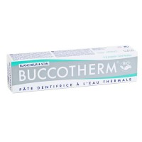 BUCCOTHERM Dentifrice Blancheur & Soin BIO (75ml)