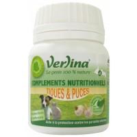 Verlina Bio' Complex tiques et puces Chiens et Chats (60 comprimés)