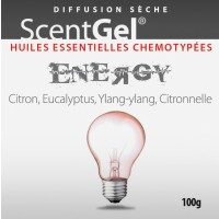 EOSTREAM Scentgel Complexe d'huiles essentielles ENERGY