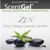 EOSTREAM Scentgel Complexe d'huiles essentielles ZEN