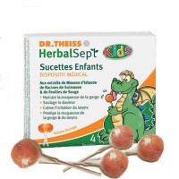 Sucettes enfants Herbalsept Dr.Theiss