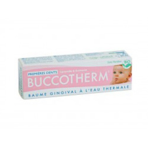 BUCCOTHERM Dentifrice Baume gingival Poussées Dentaires BIO (50ml)