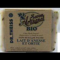 Savon Bio lait d'anêsse et ortie (120gr)